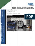 Curvas Idf Actualizadas Quito