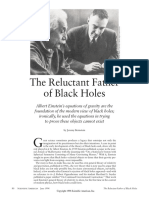 The Reluctant Father of Black Holes (1)