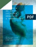 livro história da arte narrativas coleções