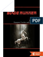 Blade Runner - Hampton Fancher, David Peoples