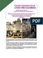 Conservación y restauración de arquitectura precolombina.pdf