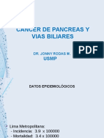 Medicina III - Cancer de Pancreas