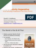 GOLDBERG David Creativity Imperative the Technology Professional of the Future