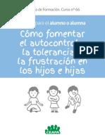 Manual de Ff Alumno Como Fomentar El Autocontrol en Los Hijos Ceapa