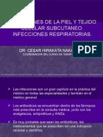 Terapéutica - Infección de Piel, Partes Blandas y Respiratorias