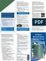 Environmental Health Directorate Urban Rainwater Collection