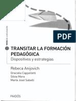6656-Anijovich, Rebeca - Transitar La Formación Pedagógica
