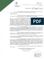 Resolucion 983-17. Prof.form.Docente en Bibliotecología