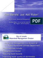 Rain Barrels - Just Add Water