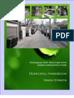 Green Infrastructure Handbook - Green Streets