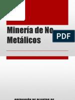 Minería de No Metálicos GLP