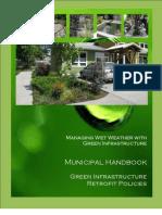 Green Infrastructure Handbook - Retrofit Policies