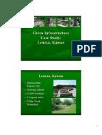Green Infrastructure - Lenexa KS
