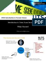 Lecture 1 - CSI