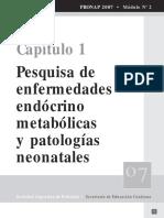3- Enf. Endócrino Metabólicas y Patologías Neonatales