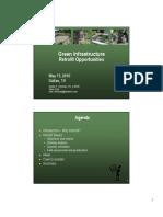 Green Infrastructure Retrofit Opportunities