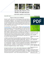 Managing Wet Weather with Green Infrastructure, September 2007 Bulletin