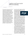 [P] [Mer. & Ayres, 2005] Research on CLT and its design implications for E-learning.pdf