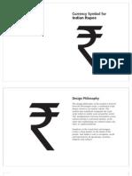 Indian Rupee Symbol