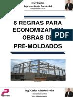 6 Regras Para Economizar Em Obras de Pré-moldados
