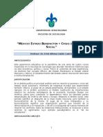 Programa Mexico Estado Social