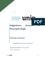 Trabajo 2 Avances en Neuropsicologia