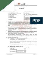 Silabo de Analisis Estructural II Sin Proteccion