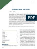 Ceroidolipofuscinosis neuronales