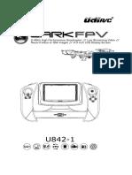 DRONE U842-1guide