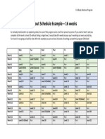 01-16 Week Workout Schedule Example