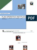 Presentacion Del Plan Operativo 2017 - Tapa