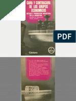 Basualdo, E & Aspiazu, D - Cara y Contracara de Los Grupos Económicos