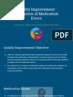 quality improvement presentation group k