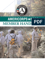 Americorps NCCC Member Handbook