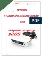 Tutorial Atualização e Configuração Do S205_V_1.0_PDF