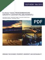 Konsep Awal Pengembangan Growth Center Palabuhanratu Juni 2013