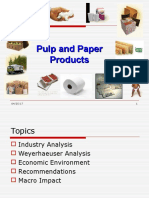 Pulp and Paper Industry Presentation