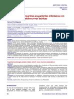 funcionamientocognitivoenpacientesinfectadosconvih