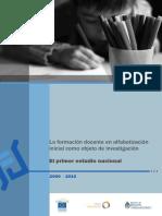 1. La Formacion Docente en Alfabetizacion Inicial Como Objeto de Investigacion 1[1]