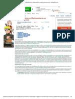 Criterios de Evaluacion y Fundamentos de Una Programacion Anual - Monografias