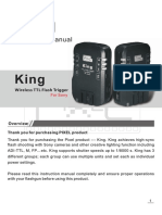 King for Sony Product Manual