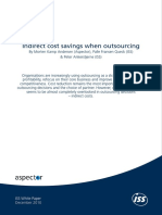 Indirect Cost Savings When Outsourcing