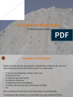 Técnicas en Multilargos