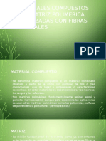 Materiales Compuestos Con Matriz Polimerica Reforzadas Con Fibras