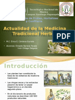 Actualidad de La Medicina Tradicional Herbolaria
