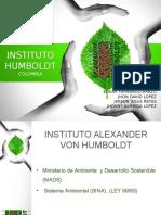 Instituto Humboldt Ejecutable