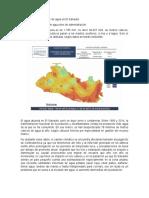 Problemática de Escasez de Agua en El Salvador