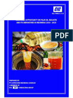 Studi of Palm Oil Industri and Its Derivatives In Indonesia 2016 - 2020