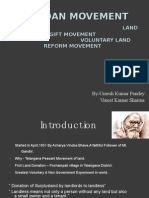 Bhoodan Movement
