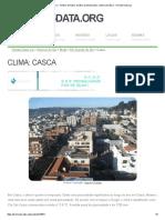 Clima_ Casca - Gráfico Climático, Gráfico de Temperatura, Tabela Climática - Climate-Data
